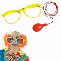 Αποκριάτικα Γυαλιά Κλόουν
