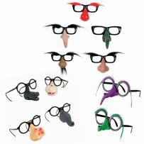 Αποκριάτικα Γυαλιά με Μύτη