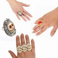 Αποκριάτικα Δαχτυλίδια