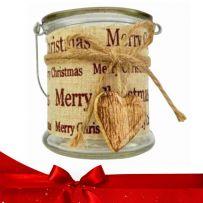 Χριστουγεννιάτικα Γυάλινα Διακοσμητικά