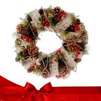 Χριστουγεννιάτικα Στολισμένα Στεφάνια