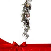 Χριστουγεννιάτικες Στολισμένες Γιρλάντες