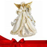 Χριστουγεννιάτικες Κορυφές Άγγελοι