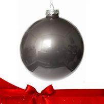 Ασημί Χριστουγεννιάτικες Μπάλες