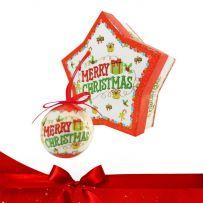 Χριστουγεννιάτικες Μπάλες Ντεκόρ Σετ