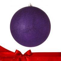 Μωβ - Φούξια Χριστουγεννιάτικες Μπάλες
