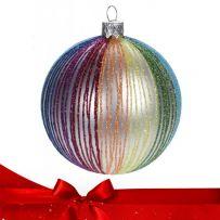 Πολύχρωμες Χριστουγεννιάτικες Μπάλες