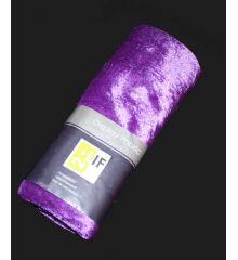Βελούδο Ύφασμα Πακέτο Χρώματος Μωβ - 140*300 εκ