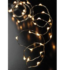 200 Λευκά Θερμά Φωτάκια LED Copper (20m)