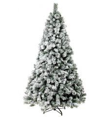 Χριστουγεννιάτικο Χιονισμένο Δέντρο ALASKA (2,1m)