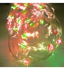 200 Πολύχρωμα Φωτάκια LED Copper Εξωτερικού Χώρου, Χταπόδι (10*2m)