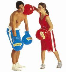 Αποκριάτικο Αξεσουάρ Γάντια Μποξέρ - 2 χρώματα