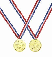 Αποκριάτικο Αξεσουάρ Χρυσό Μεταλλικό Winner