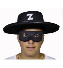 Αποκριάτικο Αξεσουάρ Μαύρο Καπέλο Ξιφομάχου