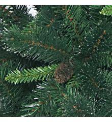 Χριστουγεννιάτικο Παραδοσιακό Δέντρο Smoky με Κουκουνάρια (2,4m)