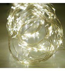 500 Λευκά Θερμά Φωτάκια LED Copper Εξωτερικού Χώρου, Χταπόδι (10*5m)