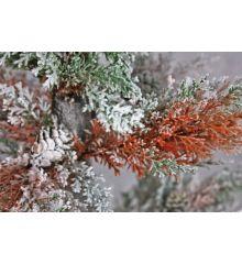 Χριστουγεννιάτικο Χιονισμένο Δέντρο σε Σακί (1,4m)