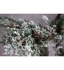 Χριστουγεννιάτικο Δέντρο Χιονισμένο με Σακί (1,7m)
