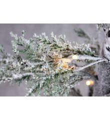 Χριστουγεννιάτικο Φωτιζόμενο Δέντρο Χιονισμένο με LED (90cm)
