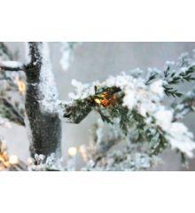 Χριστουγεννιάτικο Φωτιζόμενο Δέντρο Χιονέ με LED (1,3m)