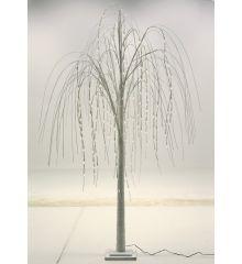 Χριστουγεννιάτικο Φωτιζόμενο Δέντρο Λευκό με 192 LED (2m)