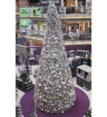 Χριστουγεννιάτικο Δέντρο Giant Tree Flock PE/PVC με 21400 LED (12m)