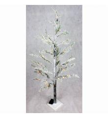 Χριστουγεννιάτικο Φωτιζόμενο Δέντρο Χιονισμένο με LED (1,3m)