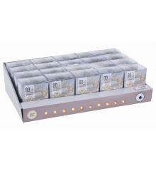 80 Λευκά Θερμά Φωτάκια LED Μπαταρίας (8m)