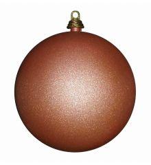 Χριστουγεννιάτικες Μπάλες Σαμπανιζέ, Σετ 6 τεμ. (8cm)