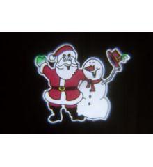 Χριστουγεννιάτικος Προβολέας LED, Χιονάνθρωπος