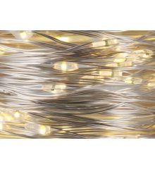 240 Λευκά Θερμά Φωτάκια LED Copper Εξωτερικού Χώρου (24m)