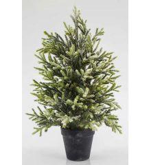 Χριστουγεννιάτικο Επιτραπέζιο Δέντρο σε Γλαστράκι (45cm)