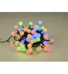 100 Πολύχρωμα Φωτάκια LED με Μπαλίτσες και 8 Προγράμματα