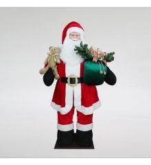 Χριστουγεννιάτικος Άγιος Βασίλης με Αυτόματο Φούσκωμα (250cm)