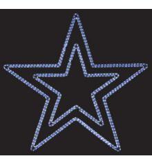 Χριστουγεννιάτικο Επιστύλιο Αστέρι με Φωτοσωλήνα LED (1.1m)