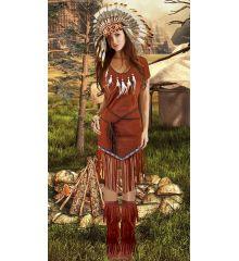 Αποκριάτικη Στολή Ινδιάνα Pocahontas