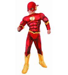 Αποκριάτικη Στολή Warner Bros Flash Deluxe