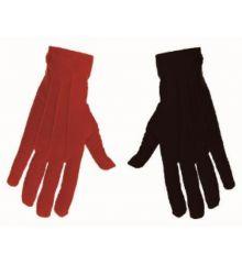 Αποκριάτικο Αξεσουάρ Γάντια Μαύρο-Κόκκινο