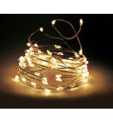 320 Λευκά Θερμά Φωτάκια LED Copper Εξωτερικού Χώρου (32m)