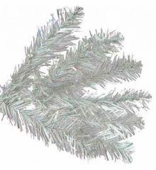 Χριστουγεννιάτικο Λευκό Δέντρο Ιριζέ (2,1m)