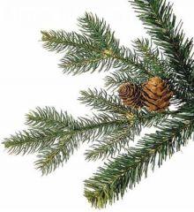 Χριστουγεννιάτικο Παραδοσιακό Δέντρο MRC-PVC με Κουκουνάρια (2,3m)