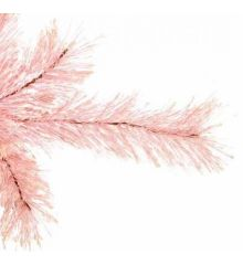 Χριστουγεννιάτικο Στενό Δέντρο Pink Slim (2,10m)