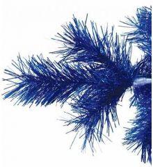 Χριστουγεννιάτικο Στενό Δέντρο BLUE SLIM (2,1m)