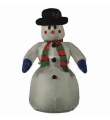 Χριστουγεννιάτικος Φουσκωτός Χιονάνθρωπος με φως (1.20m)