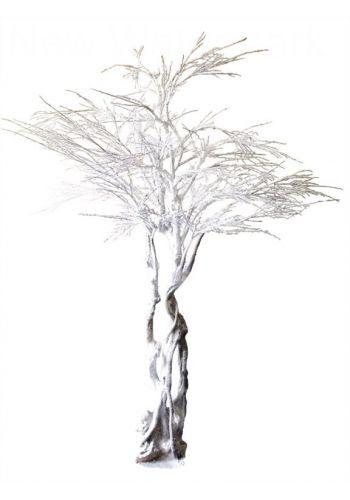 Χριστουγεννιάτικο Διακοσμητικό Χιονισμένο Δέντρο King Size (3,5m)