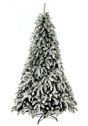 Χριστουγεννιάτικο Χιονισμένο Δέντρο SNOWWHITE (2,1m)