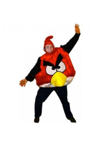 Αποκριάτικη Στολή Angry Bird Κόκκινο Ενηλίκων