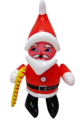 Χριστουγεννιάτικος Φουσκωτός Πλαστικός  Άγιος Βασίλης Κόκκινος (40cm)
