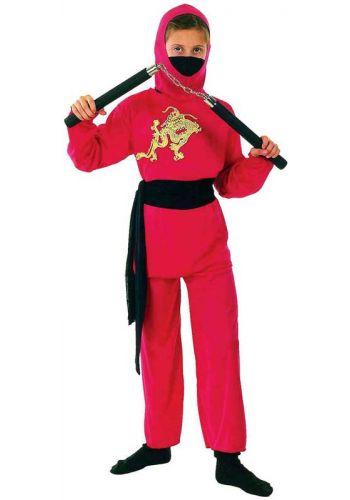 Αποκριάτικη Στολή Κόκκινος Ninja