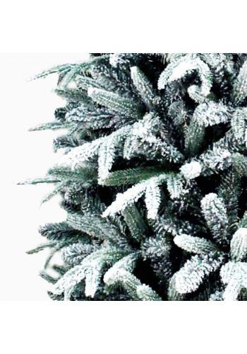 Χριστουγεννιάτικο Στενό Χιονισμένο Δέντρο NORWAY (2,1m)